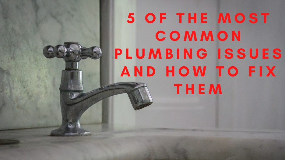 common plumbing problems - Westmont IL Plumber